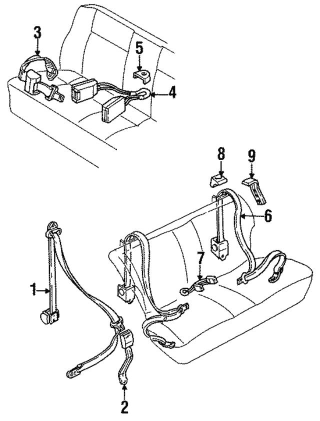 1984 1991 volkswagen belt retractor 533 857 813 b volkswagensm Used VW Cabriolet belt retractor volkswagen 533 857 813 b