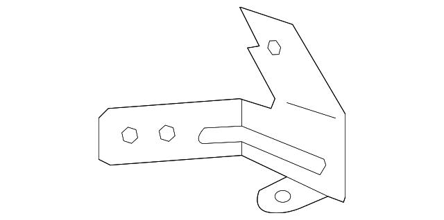 bracket  sub-fuse box
