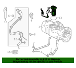 Fuel Pump - Ford (DV6Z-9H307-R)