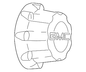 Wheel Cover - GM (9597159)