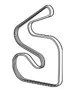 Serpentine Belt - Mopar (4593852AB)