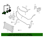 Thermostat Housing - Ford (1S7Z-8575-AG)