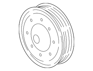 Pulley - GM (12655061)