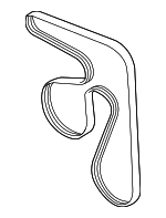 Serpentine Belt - Subaru (23780AA21A)