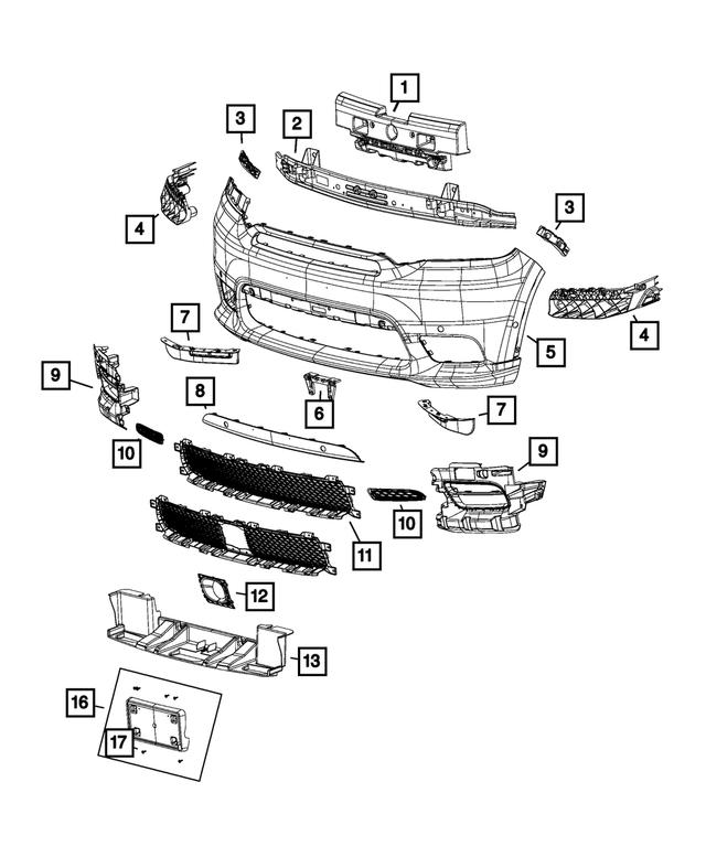 For 2016-2018 Dodge Durango Serpentine Belt Drive Component Kit Gates 34923VS