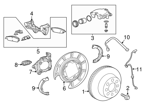 Brake Components for 2018 GMC Sierra 1500 #0