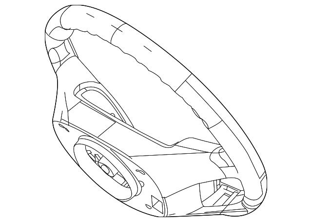 2010 2012 Ford Steering Wheel 9e5z 3600 Be