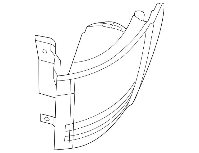chrysler tail lamp 5182531ae