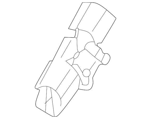 Genuine Volvo Drip Molding Clip 9190981