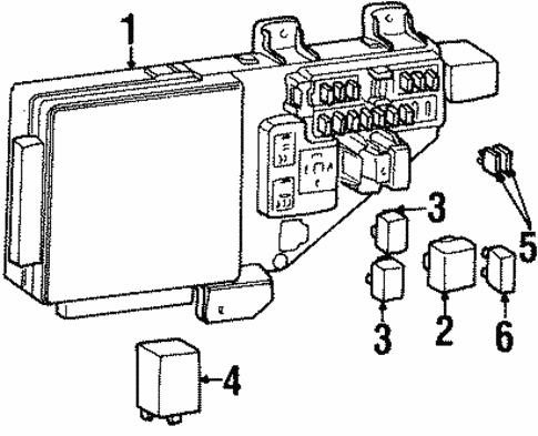 fuse box for 1997 chrysler cirrus