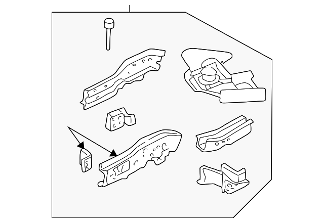 Rail Assembly Ford 4l8z7810008aa: 2007 Ford Escape Exhaust System Diagram At Sergidarder.com