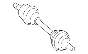 Axle Assembly - Mercedes-Benz (166-330-33-00)