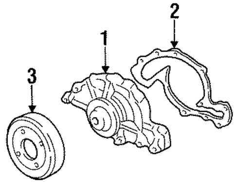 T3747034 Replace starter 2004 grand am besides P 0900c15280217d01 moreover Buick Park Avenue Serpentine Belt Routing furthermore 2001 Olds Intrigue Wiring Diagram likewise Car   Fans. on oldsmobile intrigue 3 5 engine