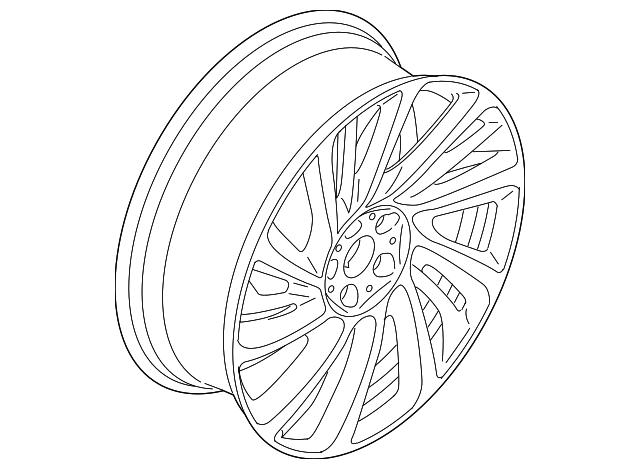 2014 2017 bmw i8 wheel alloy 36 11 6 862 898 germain bmw parts 2019 BMW X7 wheel alloy bmw 36 11 6 862 898