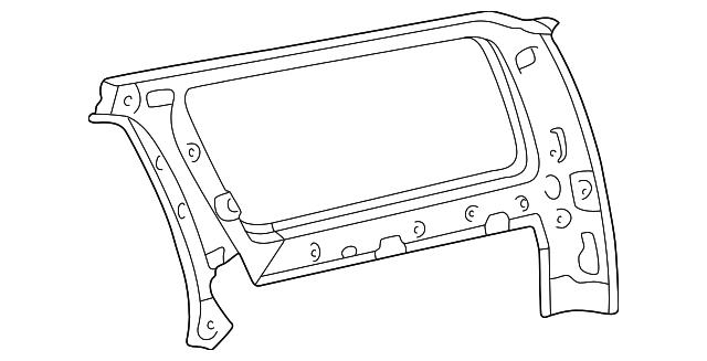 1996 2000 Toyota 4runner Inner Panel 61701 35901