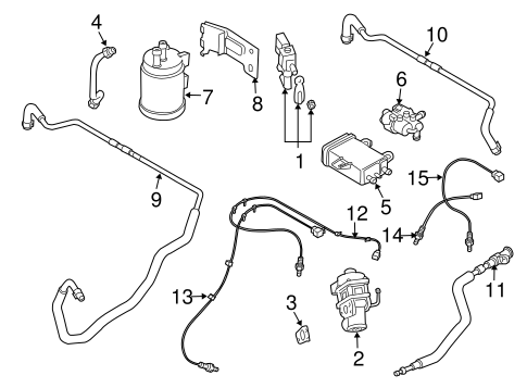 Mazda JE02-13-970A Vapor Canister