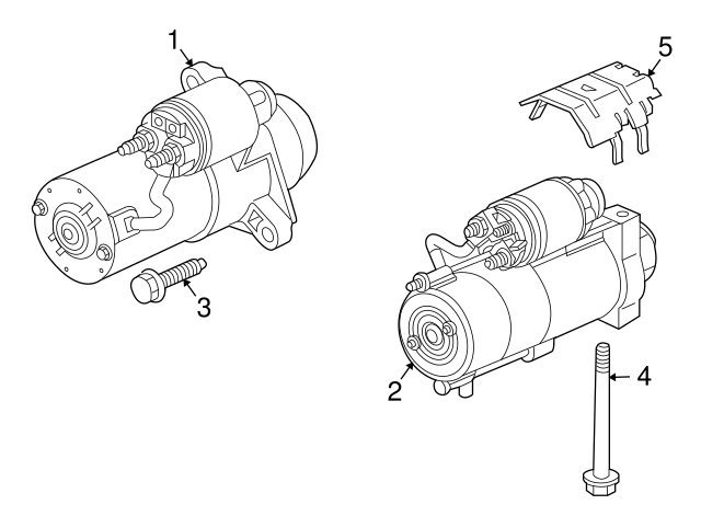 starter bolt isuzu 8115157690 world oem parts subaru 2006 Isuzu Ascender Headlight Assembly