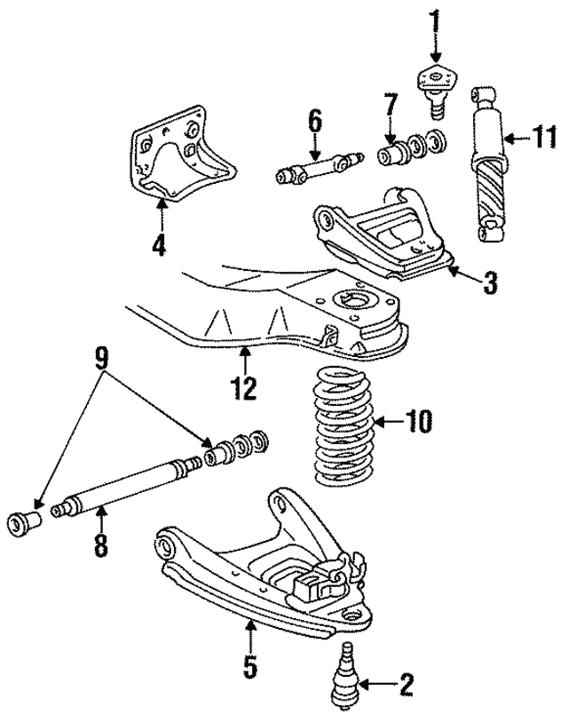 Chevy Van Suspension Diagram