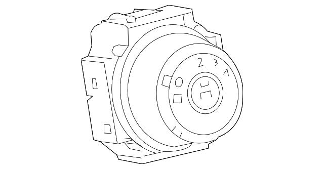Toyota 55902-0R040 HVAC Blower Control Switch