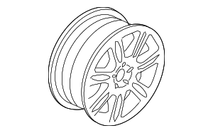 Wheel, Alloy - Volvo (30736594)