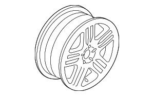 Wheel, Alloy - Volvo (30664608)