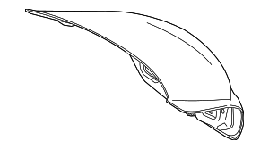 Trunk Lid - Mercedes-Benz (205-750-16-75)
