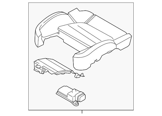 2013 2018 Porsche Cayenne Repair Kit 958 881 256 19