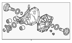 Differential Assembly - GM (84173769)