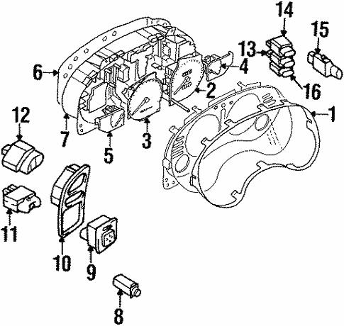 Switches For 1999 Chrysler Sebring