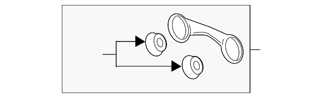 GM OEM Exhaust-Muffler /& Pipe Hanger 23380570
