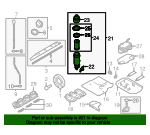 Oil Filter Housing - Volkswagen (06E-115-405-K)