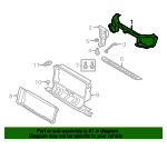Radiator Support - Land-Rover (LR022102)