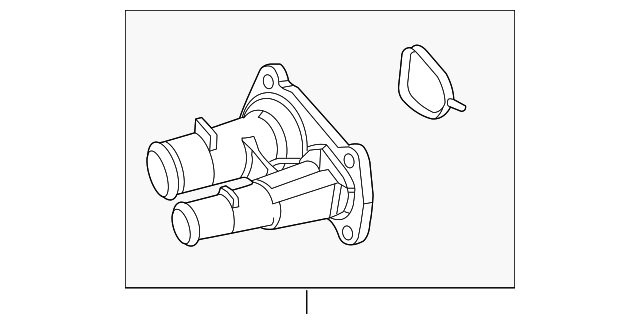 Details about  /For 2011-2019 Ford F250 Super Duty Thermostat Housing Motorcraft 45328VP 2012