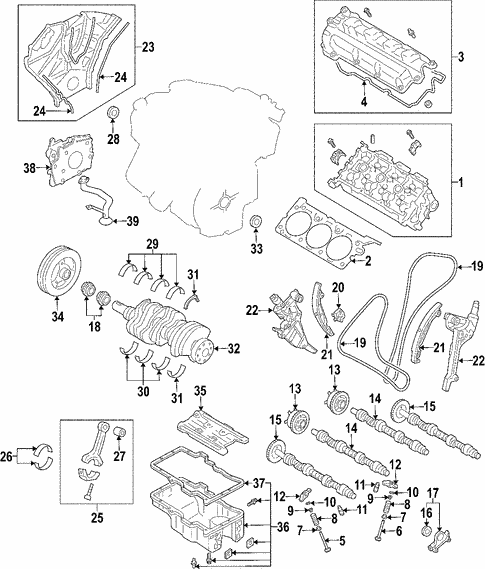 OEM 2007 Ford Fusion Engine Parts - BlueSpringsFordParts.comBlue Springs Ford Parts