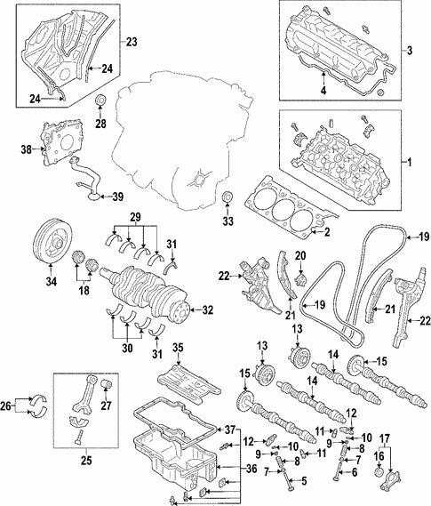 2006 Ford Tauru Engine Diagram