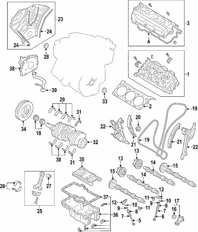 Ford Fusionlincoln Zephyrmercury Milan Engine Camshaft