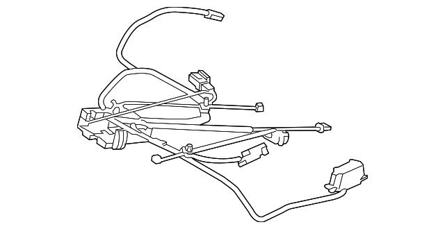 porsche wire harness  991