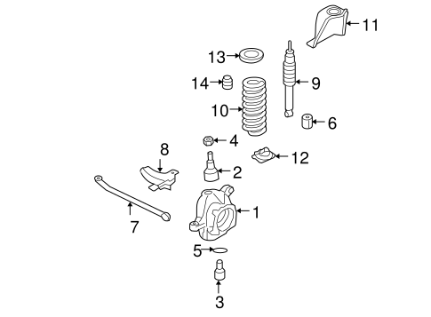 Front Suspension/Suspension Components for 2005 Ford F-350 Super Duty #3