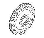 Disc Brake Rotor, Right, Rear Right Right