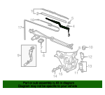 Wiper Arm - GM (10317150)