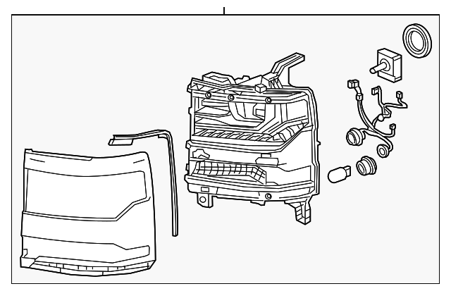 Composite Assembly Part Number Changed To 84356949 Gm