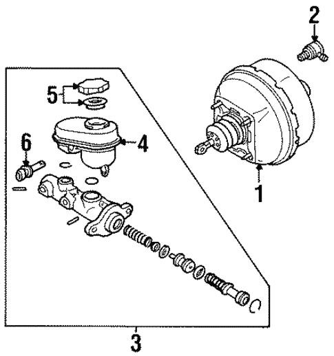 Hydraulic System For 1997 Cadillac Eldorado