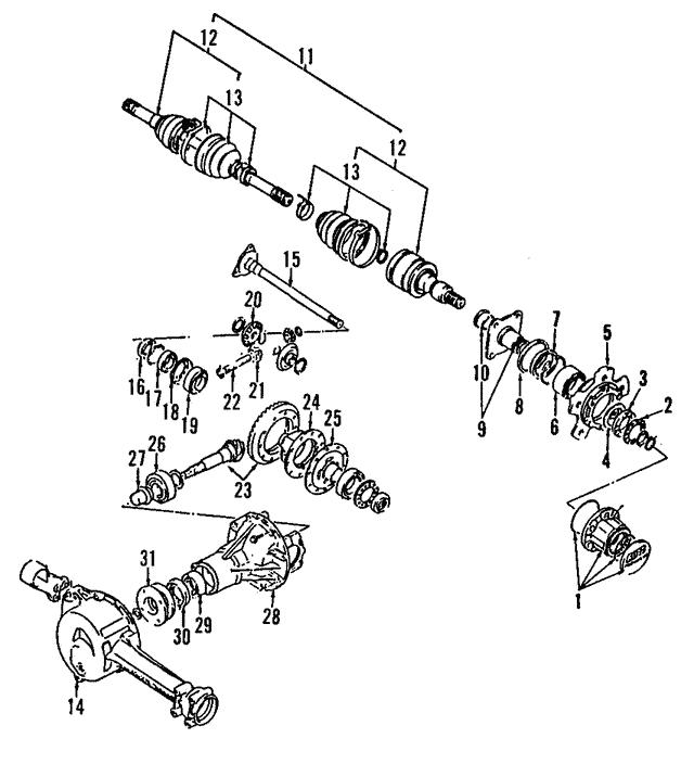 lock hub assembly