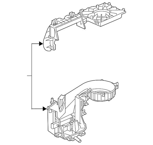2016-2019 Buick Cascada Blower Case 13402741