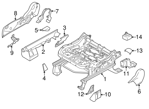 Body/Tracks & Components for 2013 Ford Escape #2