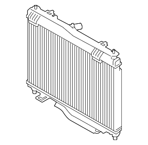 Radiator - Ford (GN1Z-8005-D)