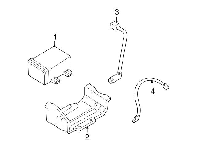 2000 2001 Mazda Mpv Knock Sensor Gy01 18 921c