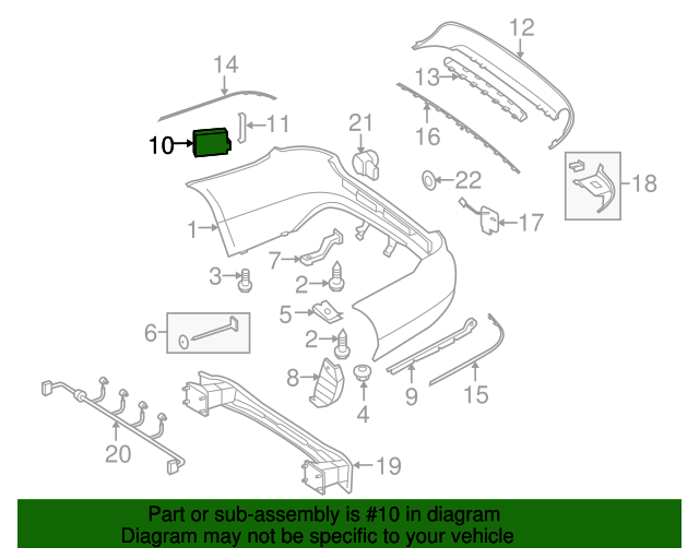 Sensor - Mercedes-Benz (000-905-02-10)   Arrowhead MB Parts