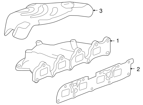 Oem 2011 Buick Regal Exhaust Manifold Parts