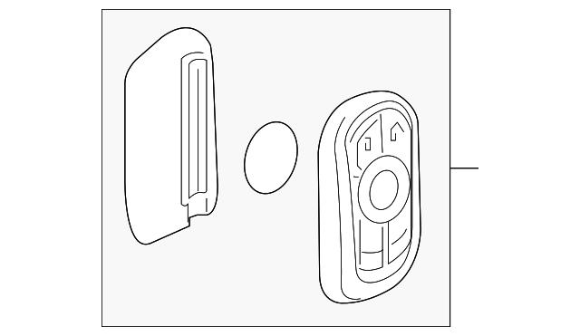 Genuine GM Key 13510389